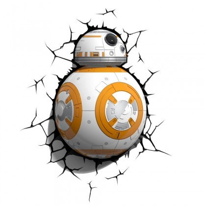 Dekorativní osvětlení 3D LIGHT FX světlo EP7 - Star Wars BB-8