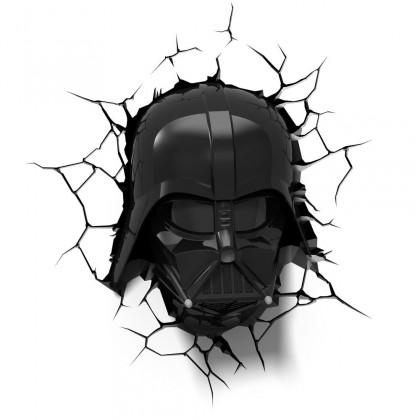 Dekorativní osvětlení 3D LIGHT FX světlo EP7 - Star Wars Darth Vaderova helma