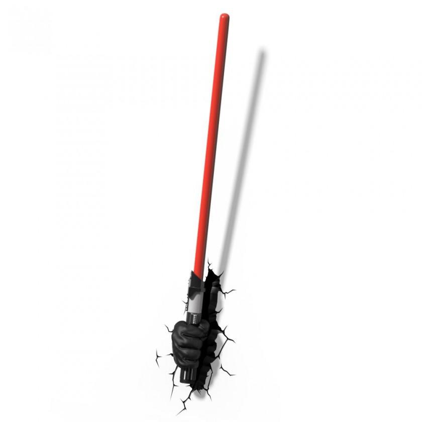 Dekorativní osvětlení 3D LIGHT FX světlo EP7 - Star Wars Darth Vaderův světelný meč