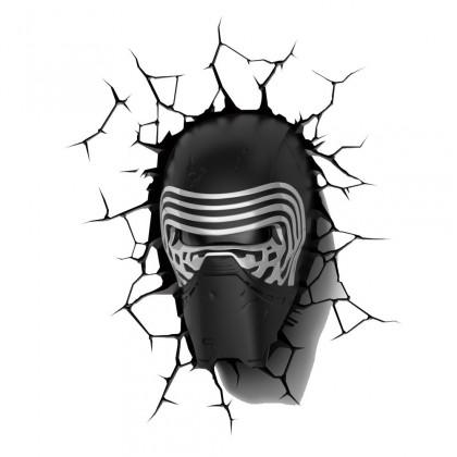 Dekorativní osvětlení 3D LIGHT FX světlo EP7 - Star Wars Kylo Renova helma