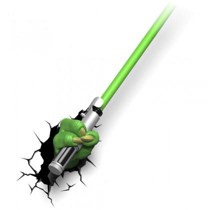 Dekorativní osvětlení 3D LIGHT FX světlo EP7 - Star Wars Yodův světelný meč