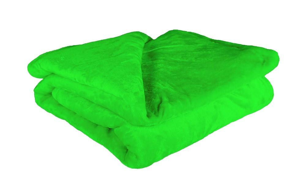 Deky Deka mikrovlákno DM15 (150x200 cm, zelená)