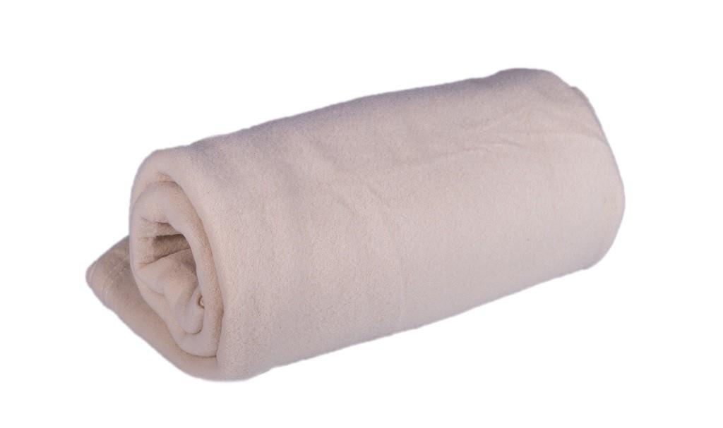 Deky Fleecová deka DF02 (150x200 cm, smetanová)