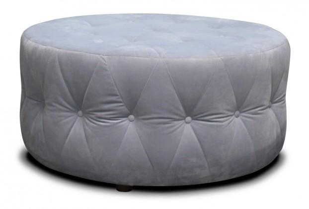 Designové taburety Taburet Luxury kruh (látka)