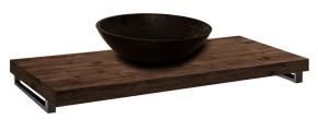 Deska pod umyvadlo DU12 (100x8x50 cm, dub wellington)