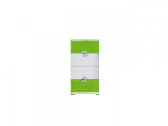 Dětská komoda Manta - Komoda 10 (zelená)