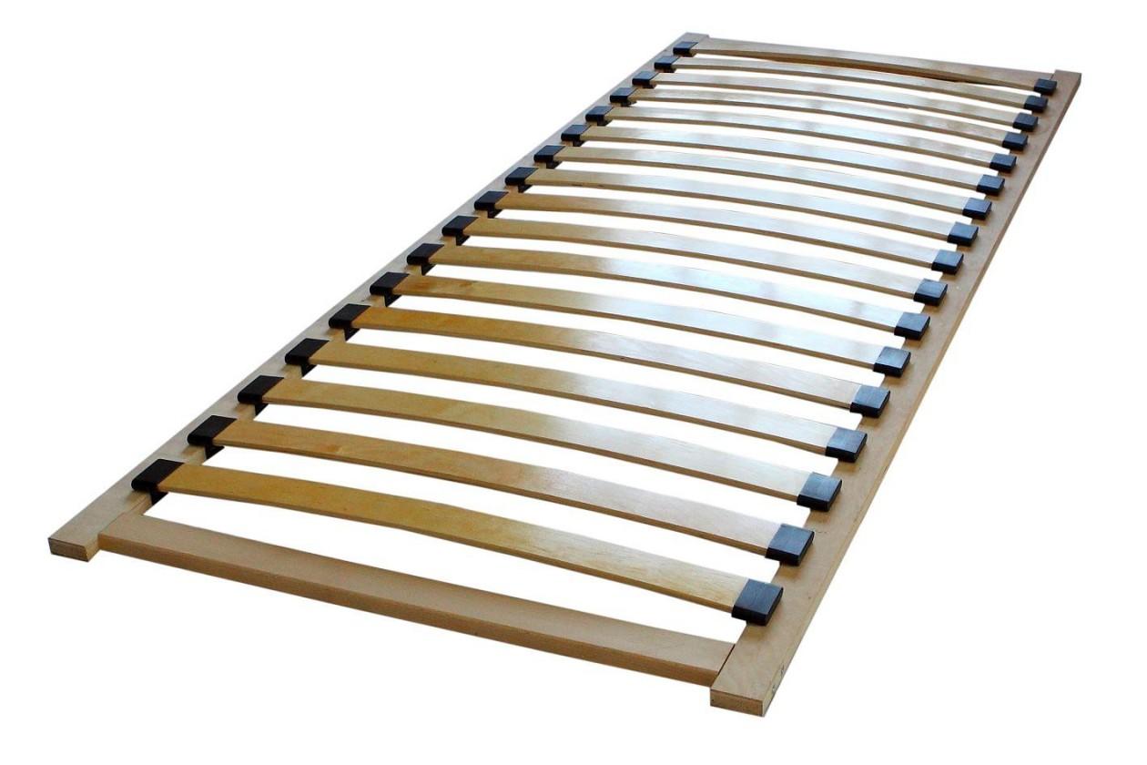 Dětská matrace Smart - Rošt 90x200cm (buk ibsen, bílá, champagne)