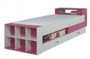 Dětská postel Komi KM 17 (růžová)