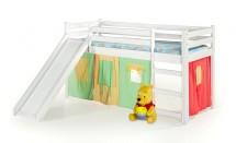 Dětská postel Nava zvýšená (bílá)