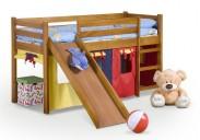 Dětská postel Neo Plus - zvýšená (olše)