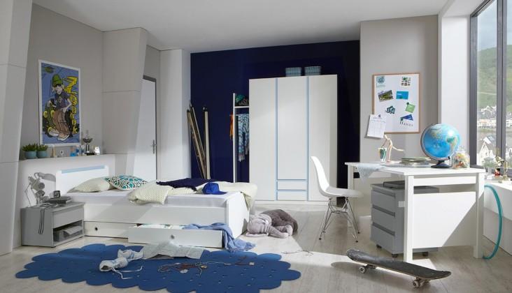 Dětská sestava Bibi - Set 1 (alpská bílá, modrá)