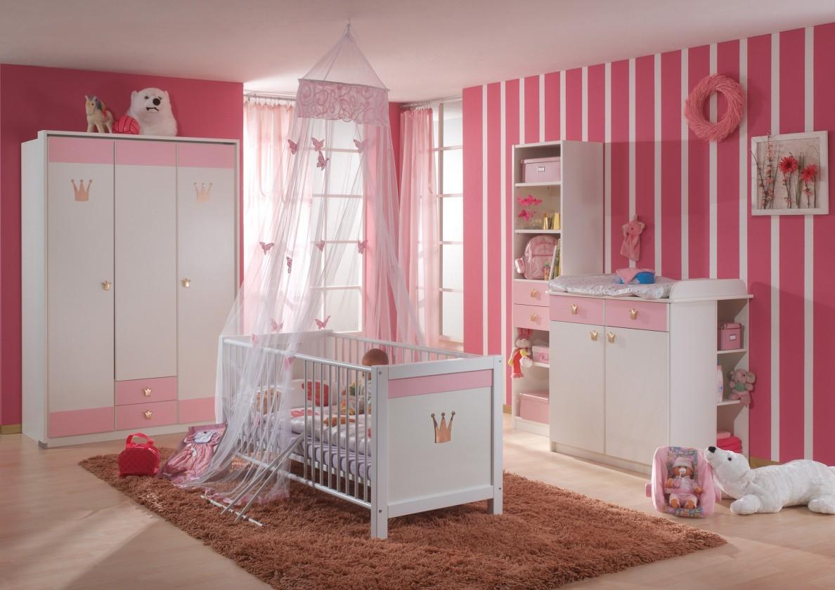 Dětská sestava Cinderella - Set 3 (bílá, růžová)