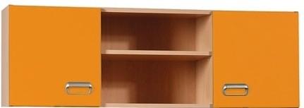 Dětská skříň APLI APP30 (Pomeranč/javor)