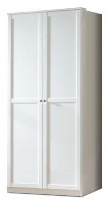 Dětská skříň Filou - Skříň dvoudveřová (alpská bílá)