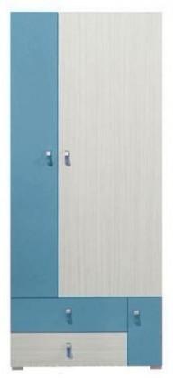 Dětská skříň Komi KM 1 (Modrá)