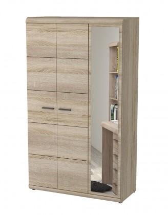 Dětská skříň Link - Skříň, 120cm (dub sonoma)