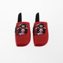 Dětská vysílačka Cobra HM 230, dosah až 3km, červená