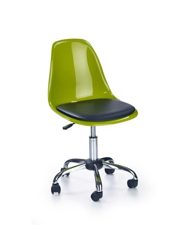 Dětská židle, křeslo Coco II (Zeleno-černá)