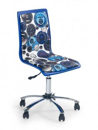 Dětská židle, křeslo Fun 8 - dětská židle (bílo-modrá)