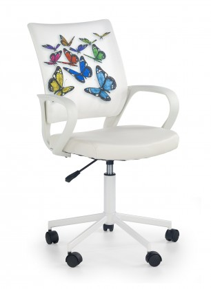 Dětská židle, křeslo IBIS butterfly - dětská židle, područky, regulace výšky sedáku