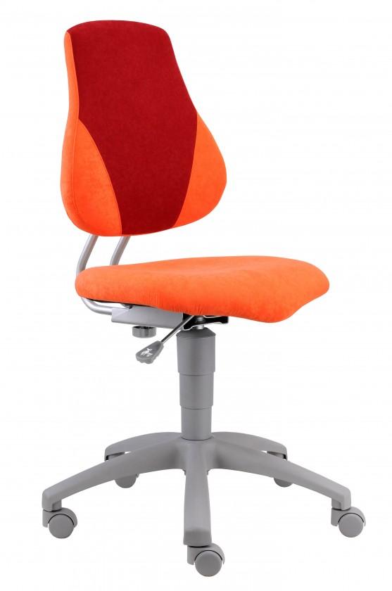 Dětská židle, křeslo Neon (červeno/oranžová)