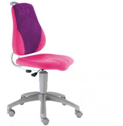 Dětská židle, křeslo Neon (fialová/růžová)