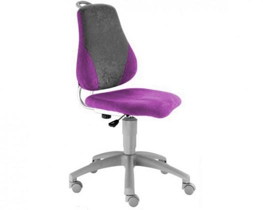 Dětská židle, křeslo Neon (fialová/šedá)