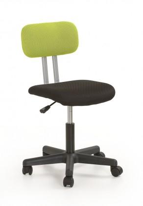 Dětská židle, křeslo Play - dětská židle (černo-zelená)