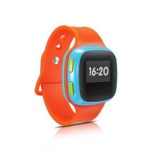 Dětské chytré hodinky Alcatel s GPS, oranžová/modrá, ZÁNOVNÍ