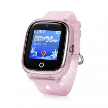 Dětské chytré hodinky Cel-tec Kids 01 s lokátorem GPS, růžová