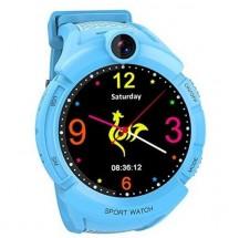 Dětské chytré hodinky GW600 s GPS, modrá