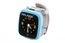 Dětské chytré hodinky Helmer KW 802, SIM karta, modro-bílá