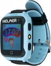 Dětské chytré hodinky Helmer LK 707 s GPS lokátorem, modrá POUŽIT