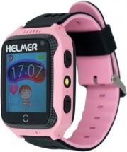 Dětské chytré hodinky Helmer LK 707 s GPS lokátorem, růžová