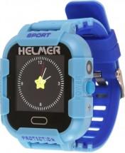Dětské chytré hodinky Helmer LK 708 s GPS lokátorem,modrá