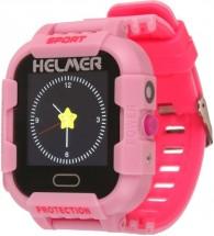 Dětské chytré hodinky Helmer LK 708 s GPS lokátorem,růžová