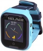 Dětské chytré hodinky Helmer LK 709 s GPS lokátorem, modrá