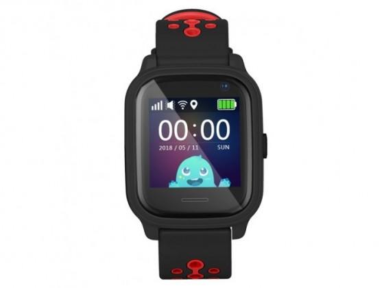 Dětské chytré hodinky Smartomat Kidwatch 3, černá