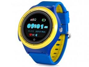 Dětské chytré hodinky Smartomat Kidwatch 3 Circle, modrá