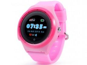 Dětské chytré hodinky Smartomat Kidwatch 3 Circle, růžová