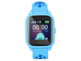 Dětské chytré hodinky Smartomat Kidwatch 3, modrá