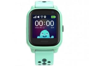 Dětské chytré hodinky Smartomat Kidwatch 3, zelená