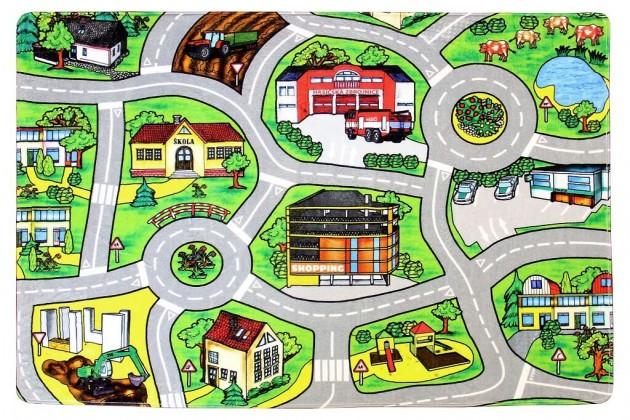 Dětské koberce Kusový koberec Silnice 21 (140x200 cm)