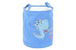Dětský koš na prádlo (modrá)