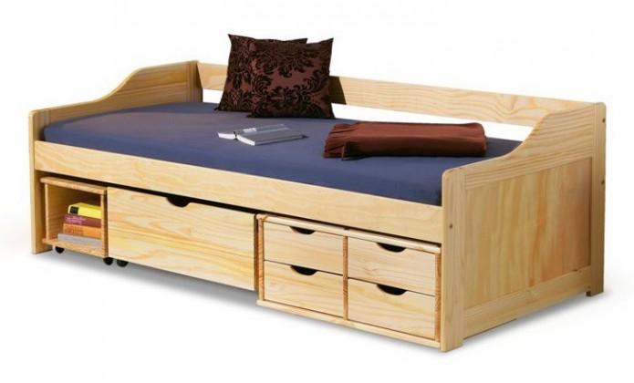 Dětský nábytek Dětská postel Masca (borovice)