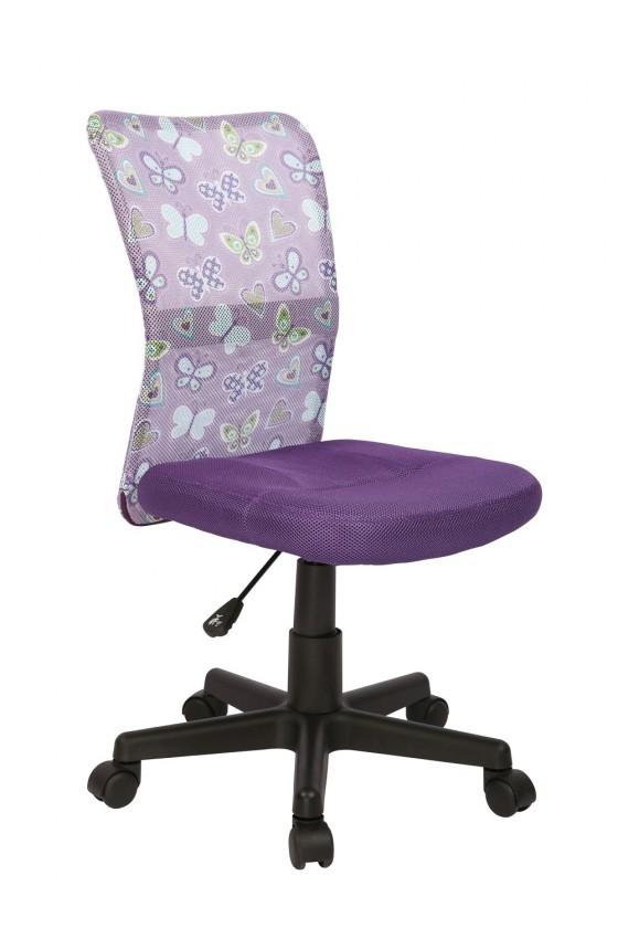 Dětský nábytek Dingo - dětská židle (fialová)