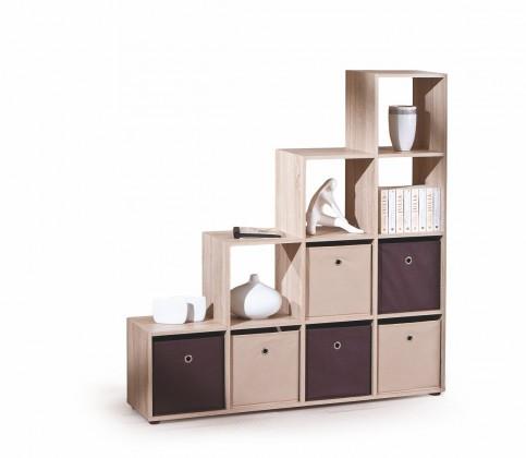 Dětský nábytek Luini - regál (dub sonoma)