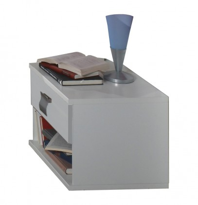 Dětský noční stolek Jette - 320697 (alpská bílá)