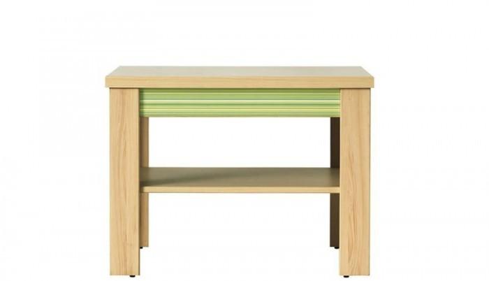 Dětský noční stolek Monza - stolek, CD1 (višeň cornvall, zelená)