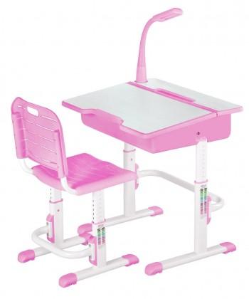 Dětský pracovní stůl Astro 2 (růžová)